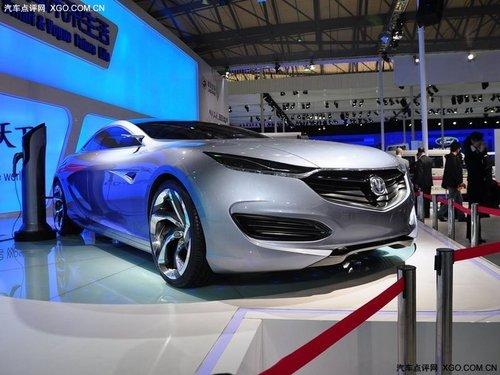 2011上海车展 长安两款概念车同台亮相
