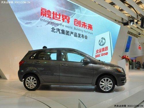 2011上海车展 北汽BC301Z亮相本届车展