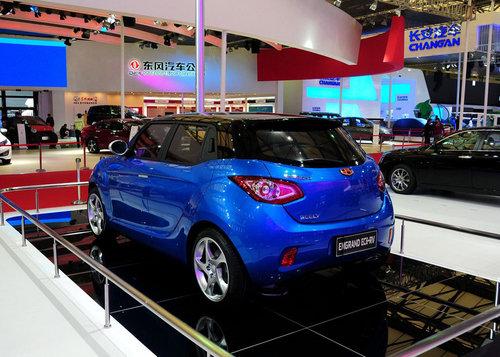 2011上海车展 吉利MINI帝豪EC6-RV亮相