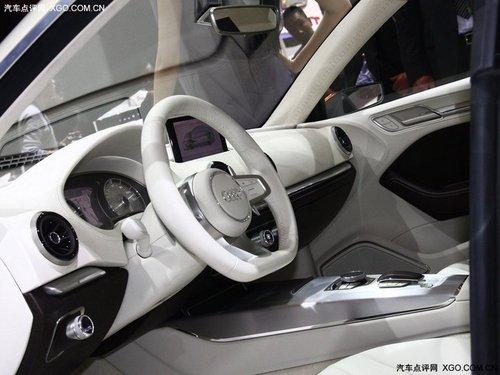 2011上海车展 奥迪A3 e-tron全球首发