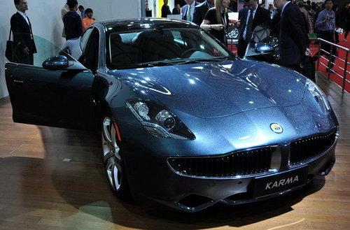预售160万  Fisker Karma上海车展亮相