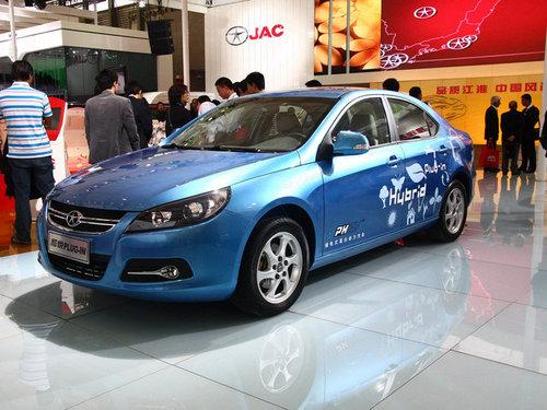 2011上海车展 江淮和悦Plug-in正式亮相