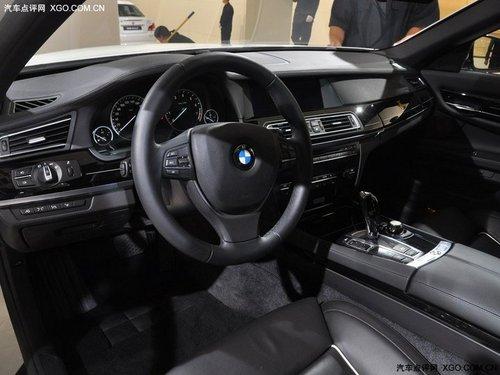2011上海车展 宝马7系施坦威版车展亮相