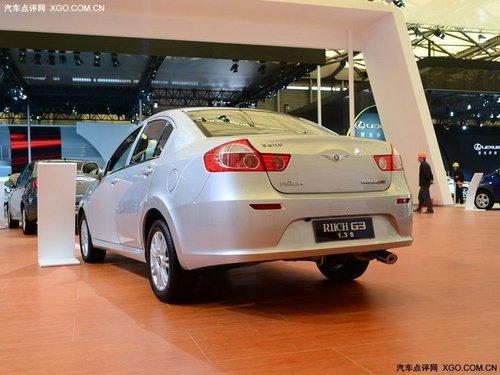 2011上海车展 瑞麒G3 1.3S旗舰型亮相