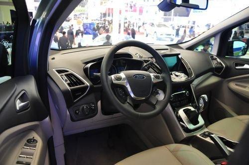 C-MAX上海车展实拍