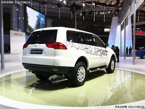 2011上海车展 三菱全新帕杰罗速跑亮相