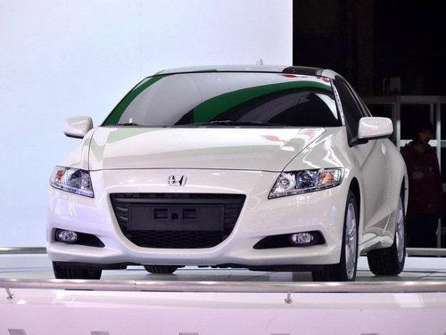 2011上海车展 本田携Insight/CR-Z亮相