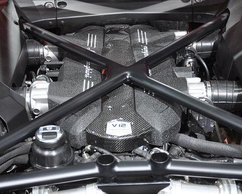 绝对最Sexy 兰博基尼Aventador车展实拍