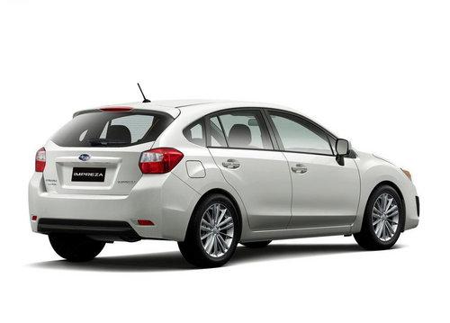 全新外观 斯巴鲁发布2012款Impreza翼豹