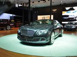 2011上海车展宾利欧陆GT