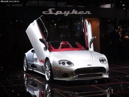 2011上海车展世爵c8 spyder