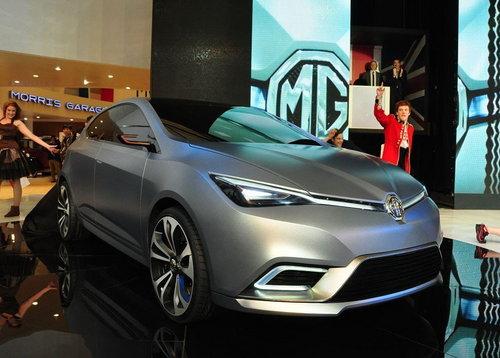 跑车/跨界车等 MG未来五年车型计划曝光