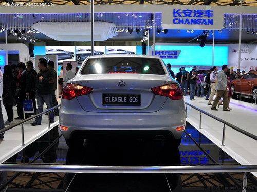 全球鹰GC6/GX6等 吉利6款全新车型介绍