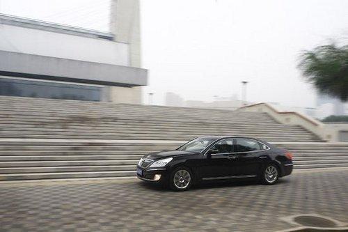 韩式奢华作品 试驾现代旗舰车型雅科仕