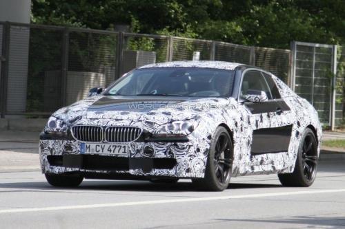 年底发布 全新一代宝马M6海外路试曝光