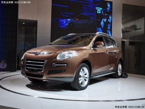 预计售25万起 纳智捷大7 SUV于6月上市