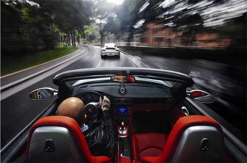 速度哲学 试驾911 Turbo对比Carrera S