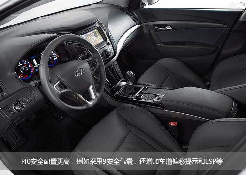 i40/新Accent 现代2款新车国内外差异