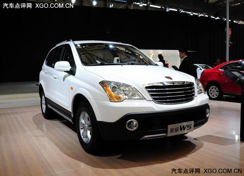 荣威W5重新定义跨领域专业SUV市场价格