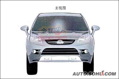 或将投放海外市场 江淮B-SUV效果图曝光