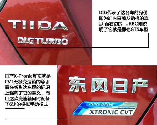 第一款Turbo日系车 日产新骐达GTS实拍
