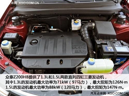 夹缝中生存的小型车 实拍众泰Z200HB