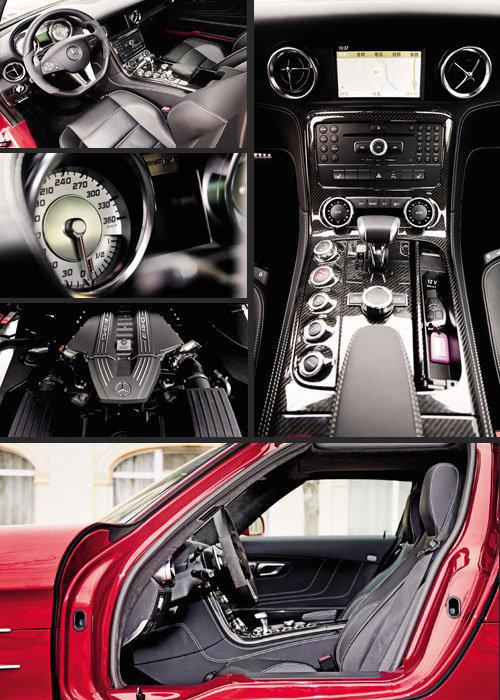 时间机器 试驾全新款BENZ SLS63-AMG