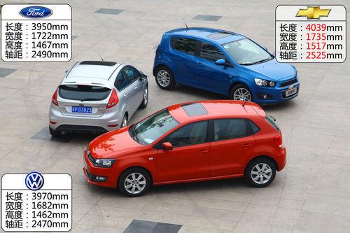 豪杰大混战 3款热门小型车全面对比体验