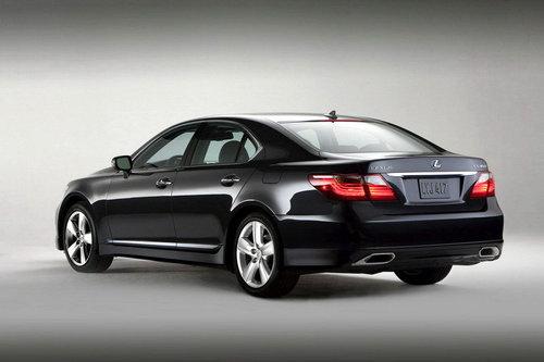 运动外观 雷克萨斯发布新款LS460车型