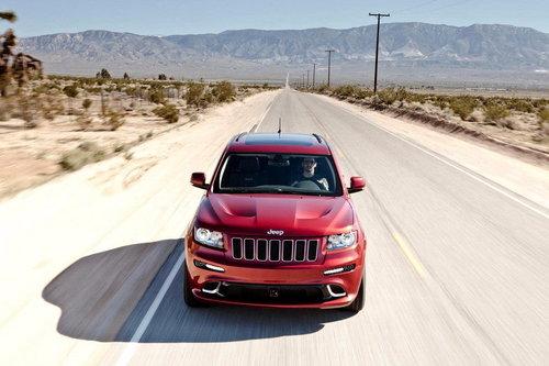 搭6.4升V8 Jeep大切诺基SRT8明年入华