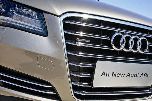 技术流实力秀 试驾奥迪全新A8L 3.0TFSI