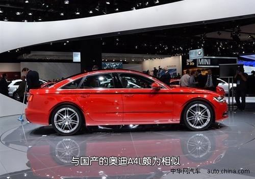 不再只是商务 评北美车展2012款奥迪A6