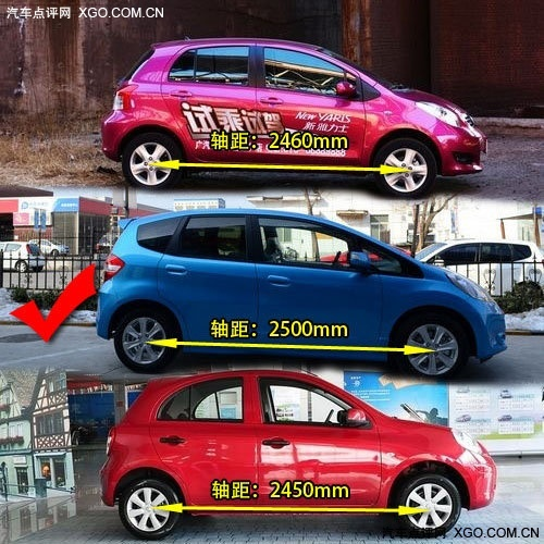 淑女最爱!日系三款代步小车对比推荐