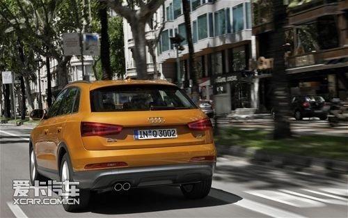 迎头赶上 海外试驾新车型2012款奥迪Q3