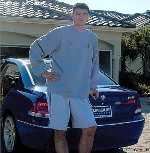 遗憾退役 姚明走过美职篮生涯的那些车