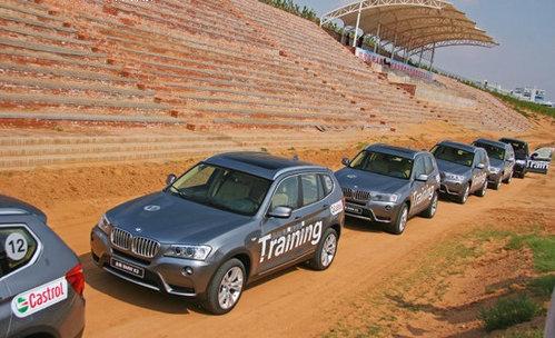 越野+赛道 BMW越野驾驶培训首日体验记