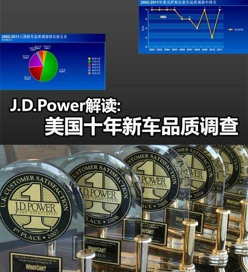 最好/最差 J.D.Power十年新车品质调查