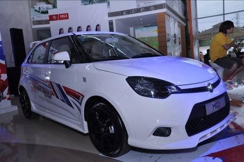 全方位超越 解析雨燕接棒人上海汽车MG3