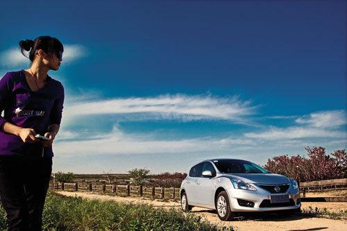 变化为运动轿车 试驾东风日产新骐达