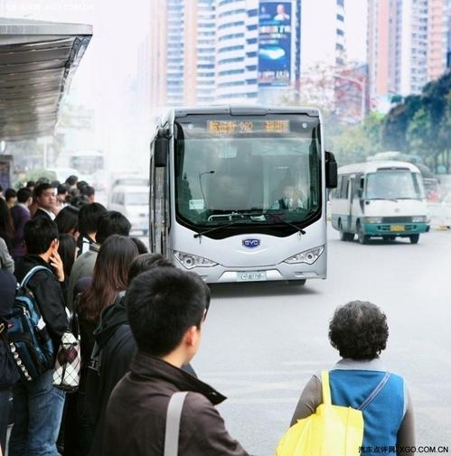 比亚迪电动车 本周将交付深圳公交系统
