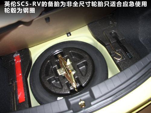 刮起运动风 英伦SC5-RV到店实拍解析