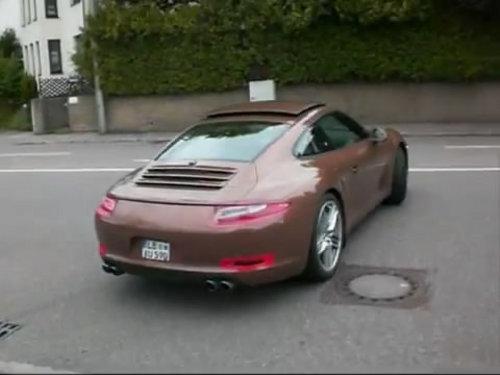 法兰克福首发 保时捷新911实车照首曝
