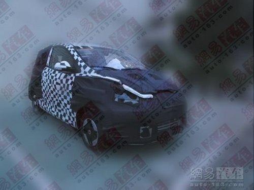 2012年量产 上汽纯电动车MG-E1实车曝光