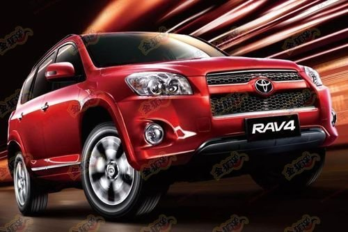增2.0L四驱版 曝2012款丰田RAV4配置表
