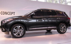 明年初上市 英菲尼迪JX概念车正式发布