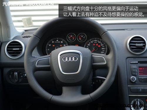 增加1.4T车型! 2012款奥迪A3到店实拍