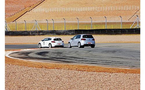 R元素注入 赛道试驾大众高尔夫R和尚酷R