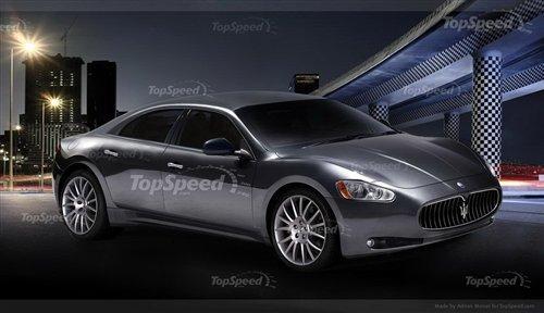 或2012年亮相 玛莎拉蒂新车假想图曝光