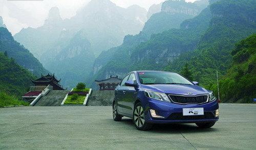 中国首发 试驾东风悦达起亚新一代K2
