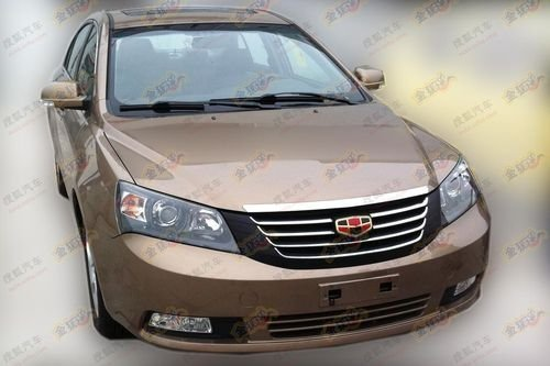 新增1.5L车型 2012款帝豪EC7贴身实拍